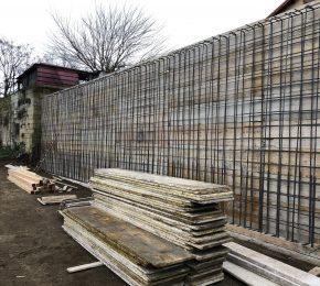 Realizzazione muro di contenimento